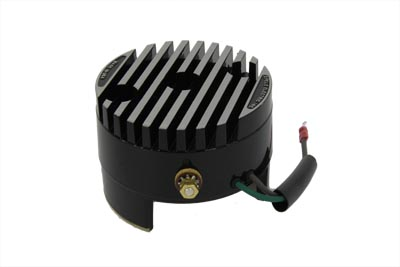 CYCLE ELECTRIC REGULATOR END COVER BLACK